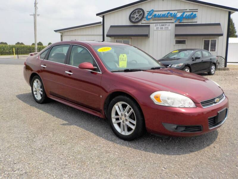 2009 Chevrolet Impala for sale at Country Auto in Huntsville OH