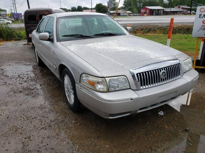 2010 Mercury Grand Marquis for sale at CAR CORNER in Van Buren AR