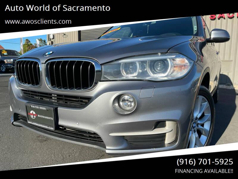 2016 BMW X5 for sale at Auto World of Sacramento Stockton Blvd in Sacramento CA