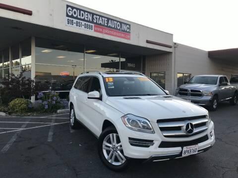 2013 Mercedes-Benz GL-Class for sale at Golden State Auto Inc. in Rancho Cordova CA