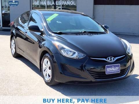 2016 Hyundai Elantra for sale at Stanley Automotive Finance Enterprise - STANLEY DIRECT AUTO in Mesquite TX