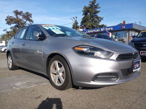 2015 Dodge Dart for sale at All American Motors in Tacoma WA