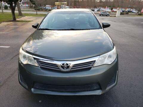 2012 Toyota Camry for sale at Alfa Auto Sales in Raleigh NC