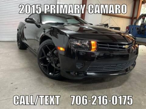2015 Chevrolet Camaro for sale at Primary Auto Group in Dawsonville GA