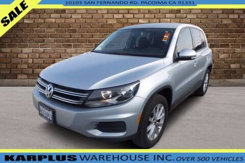 2017 Volkswagen Tiguan for sale at Karplus Warehouse in Pacoima CA