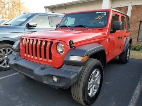 2020 Jeep Wrangler Unlimited for sale at Impex Auto Sales in Greensboro NC