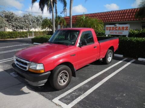 1999 Ford Ranger for sale at Uzdcarz Inc. in Pompano Beach FL