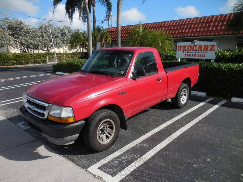 1999 Ford Ranger for sale at Uzdcarz Inc. in Pompano Beach FL