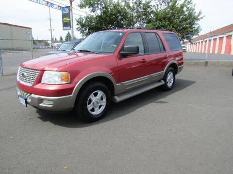 2003 Ford Expedition for sale at ARISTA CAR COMPANY LLC in Portland OR