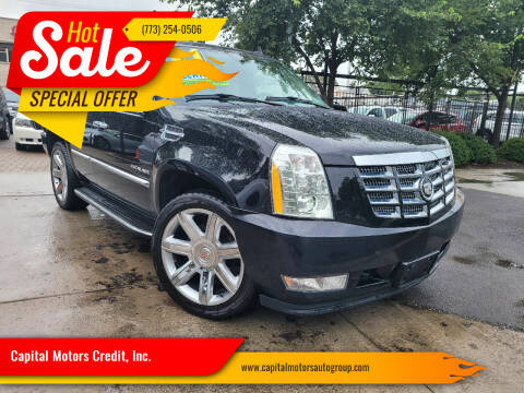 2011 Cadillac Escalade for sale at Capital Motors Credit, Inc. in Chicago IL