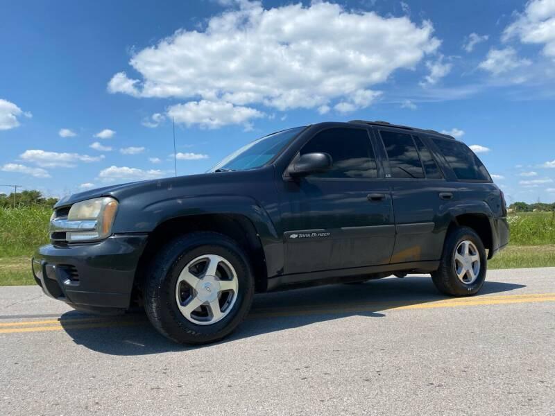 2004 Chevrolet TrailBlazer for sale at ILUVCHEAPCARS.COM in Tulsa OK