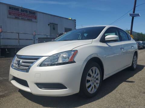 2013 Nissan Sentra for sale at MENNE AUTO SALES in Hasbrouck Heights NJ