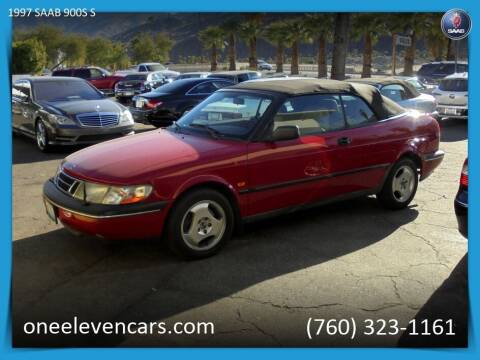 1997 Saab 900 for sale at One Eleven Vintage Cars in Palm Springs CA