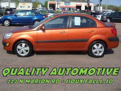 2008 Kia Rio for sale at Quality Automotive in Sioux Falls SD