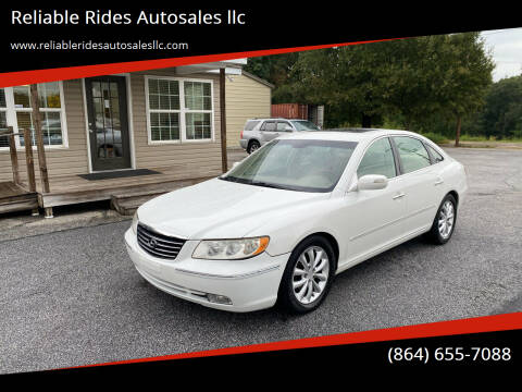 2008 Hyundai Azera for sale at Reliable Rides Autosales llc in Greer SC