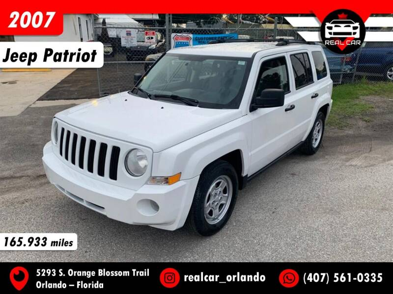 2007 Jeep Patriot for sale at Real Car Sales in Orlando FL