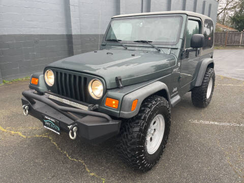 2004 Jeep Wrangler for sale at APX Auto Brokers in Lynnwood WA