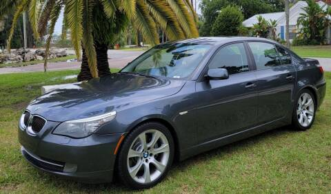 "2008 BMW 5 Series for sale at WHEELS ""R"" US 2017 LLC in Hudson FL"