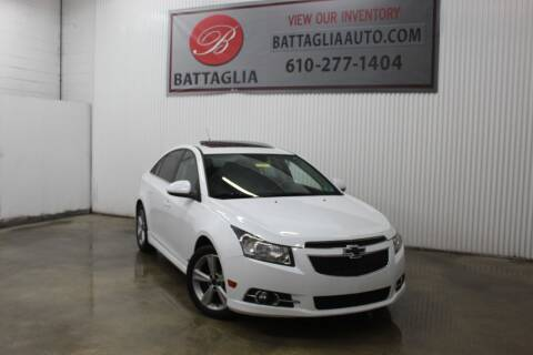 2014 Chevrolet Cruze for sale at Battaglia Auto Sales in Plymouth Meeting PA
