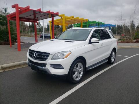 2015 Mercedes-Benz M-Class for sale at Painlessautos.com in Bellevue WA