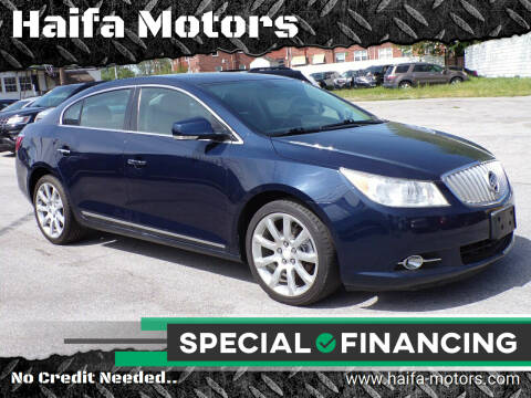 2011 Buick LaCrosse for sale at Haifa Motors in Philadelphia PA