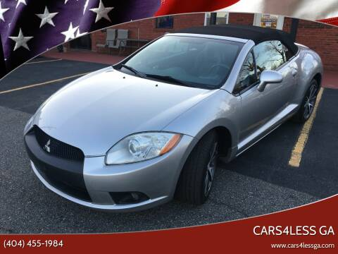 2009 Mitsubishi Eclipse Spyder for sale at Cars4Less GA in Alpharetta GA