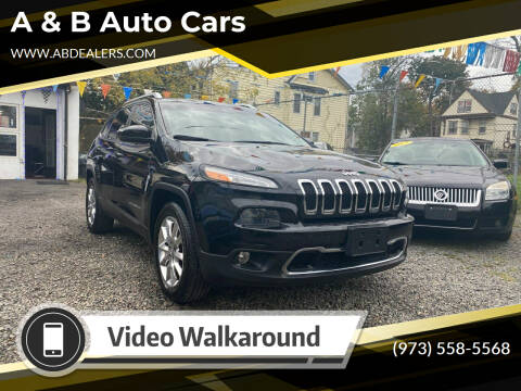 2014 Jeep Cherokee for sale at A & B Auto Cars in Newark NJ