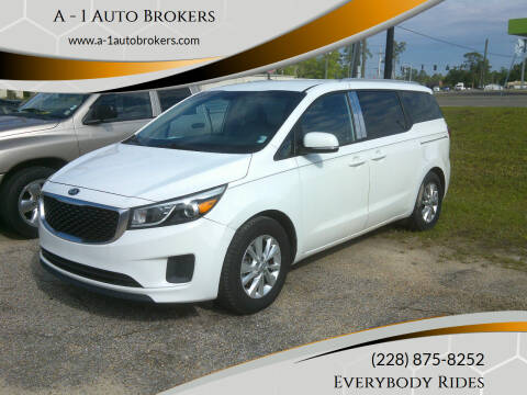 2015 Kia Sedona for sale at A - 1 Auto Brokers in Ocean Springs MS
