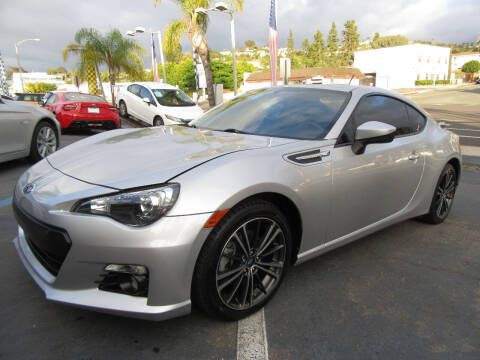 2014 Subaru BRZ for sale at Eagle Auto in La Mesa CA