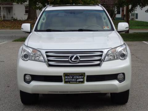 2013 Lexus GX 460 for sale at MAIN STREET MOTORS in Norristown PA