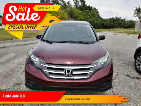 2012 Honda CR-V for sale at Tubbs Auto LLC in Tuscaloosa AL