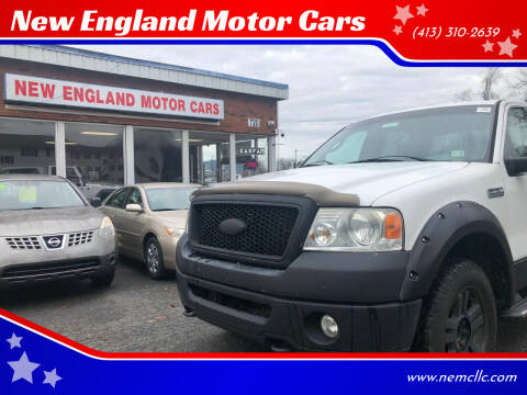 2008 Ford F-150 for sale at New England Motor Cars in Springfield MA