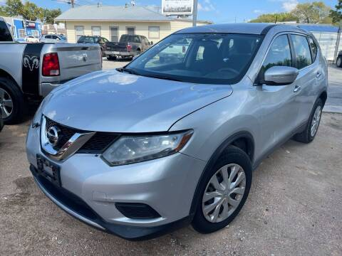 2015 Nissan Rogue for sale at S & J Auto Group in San Antonio TX