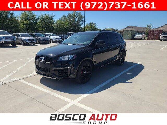 2015 Audi Q7 for sale at Bosco Auto Group in Flower Mound TX