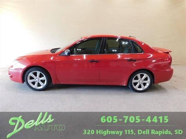 2008 Subaru Impreza for sale at Dells Auto in Dell Rapids SD