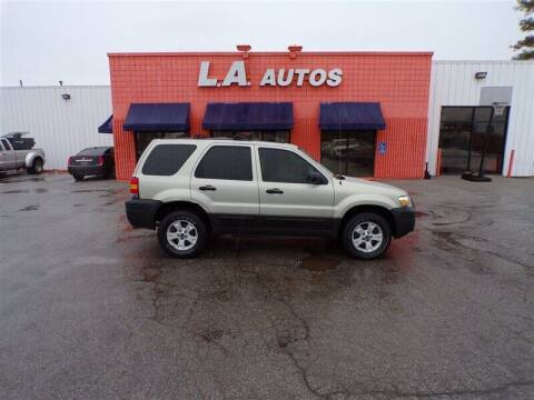 2005 Ford Escape for sale at L A AUTOS in Omaha NE