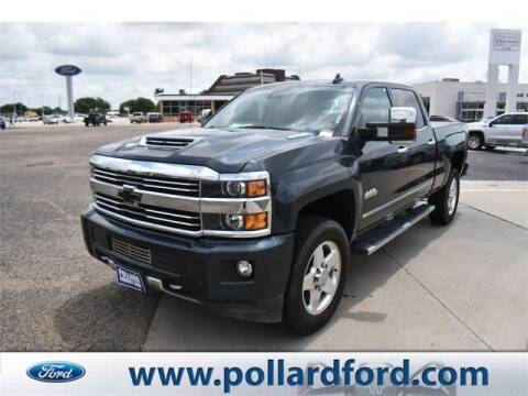 2017 Chevrolet Silverado 2500HD for sale at South Plains Autoplex by RANDY BUCHANAN in Lubbock TX