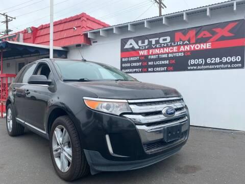 2011 Ford Edge for sale at Auto Max of Ventura in Ventura CA