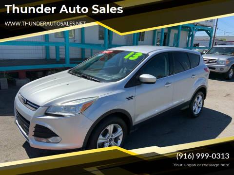 2013 Ford Escape for sale at Thunder Auto Sales in Sacramento CA