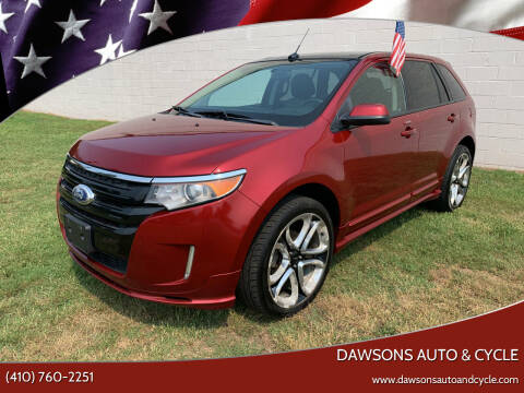 2014 Ford Edge for sale at Dawsons Auto & Cycle in Glen Burnie MD