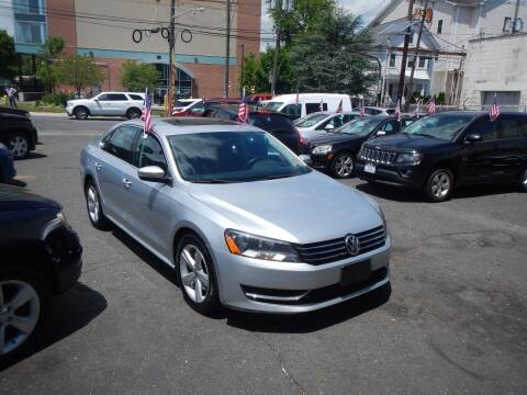 2013 Volkswagen Passat for sale at 103 Auto Sales in Bloomfield NJ