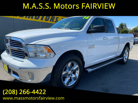 2016 RAM Ram Pickup 1500 for sale at M.A.S.S. Motors - Fairview in Boise ID