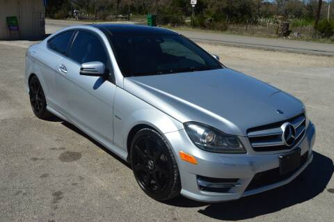 2012 Mercedes-Benz C-Class for sale at Coleman Auto Group in Austin TX