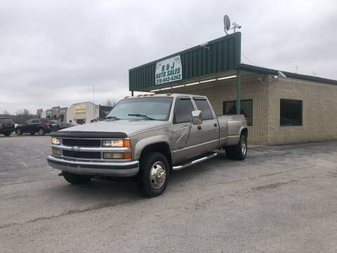1998 Chevrolet C/K 3500 Series for sale at B & J Auto Sales in Auburn KY