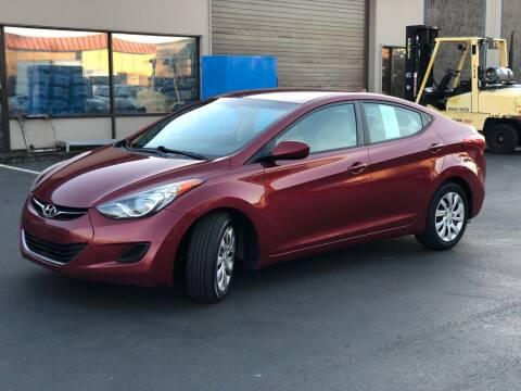 2013 Hyundai Elantra for sale at Exelon Auto Sales in Auburn WA