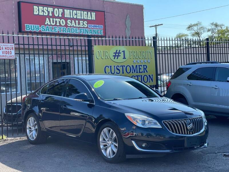 2015 Buick Regal for sale at Best of Michigan Auto Sales in Detroit MI