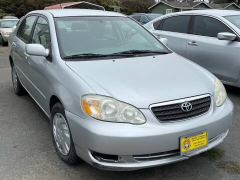 2005 Toyota Corolla for sale at HARE CREEK AUTOMOTIVE in Fort Bragg CA