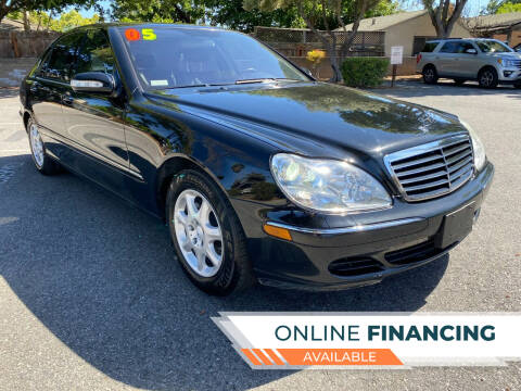 2005 Mercedes-Benz S-Class for sale at Stevens Creek Imports in San Jose CA