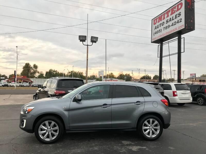 2015 Mitsubishi Outlander Sport for sale at United Auto Sales in Oklahoma City OK