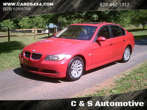 2007 BMW 3 Series for sale at C & S Automotive in Nebo NC